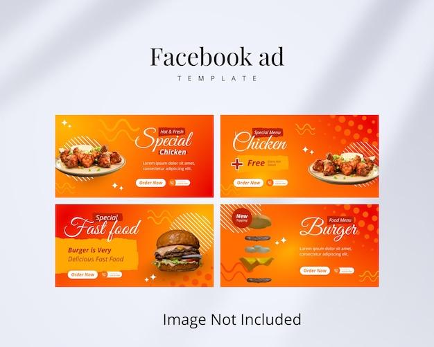 Modello di annuncio facebook creativo