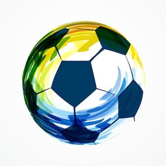 Design creativo di calcio