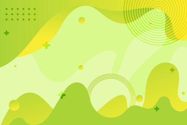 Geometrico creativo gradiente minimo motivo liquido forme dinamiche astratte sfondo visivo