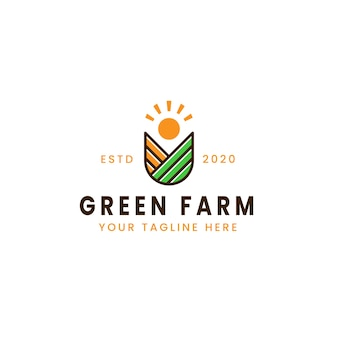 Logo creativo fattoria verde