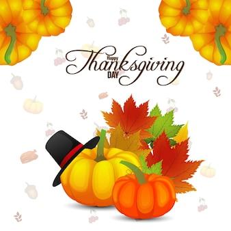 Illustrazione creativa di felice giorno del ringraziamento