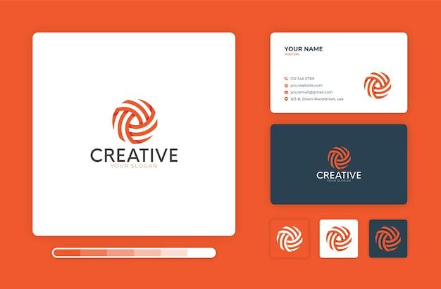 Modello di progettazione logo creativo