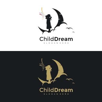 Logo di concetti di design di fotografia creativa