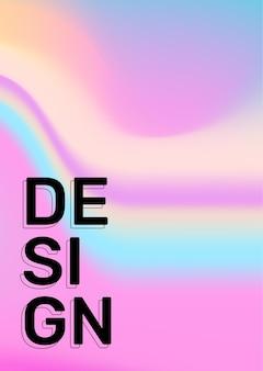 Illustrazione di gradiente di linea verticale di colore arcobaleno creativo. sfondo astratto aziendale