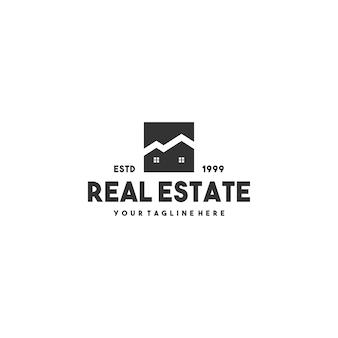 Design creativo del logo immobiliare
