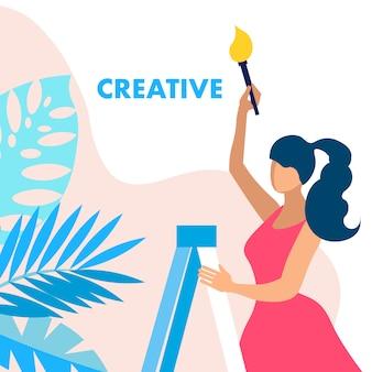 Creatività, er service concept