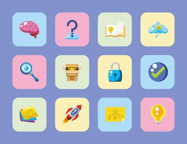 Creatività set cartone animato