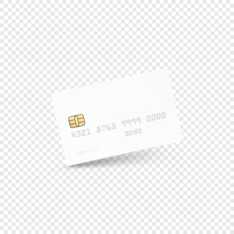 Concetto moderno di carta di credito