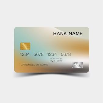 Carta di credito nuova