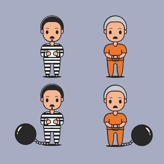 I criminali sono stati catturati carattere