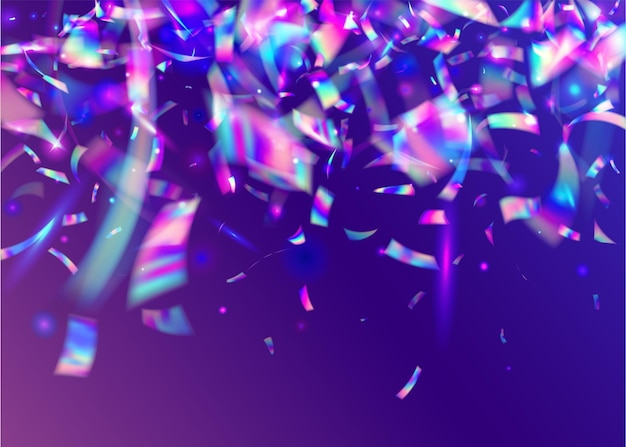 Trama cristallina. arte delle vacanze. effetto metallo viola. sfocatura bagliore. sfondo di compleanno. carta da parati astratta retrò. foglio di cristallo. tinsel leggero. texture cristal rosa