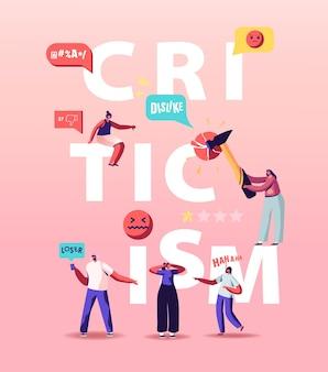 Illustrazione di critica