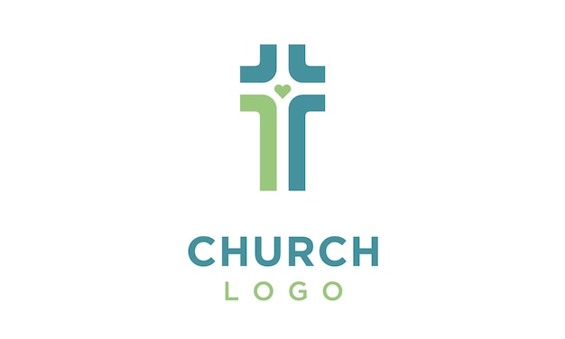 Logo crossroad heart christian church