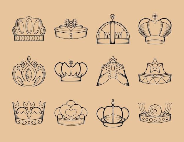 Set di regalità della corona