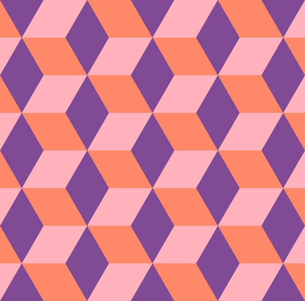Cubi modello 3d, semplice sfondo geometrico. illustrazione di stile elegante e di lusso