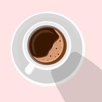 Concetto di illustrazione della tazza di caffè