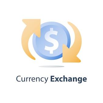 Cambio di valuta
