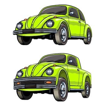 Custom car city car modificata nel pick-up per tazze con t-shirt e altro