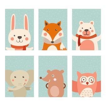 Carta animale carino