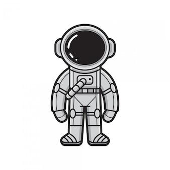 Simpatico astronauta