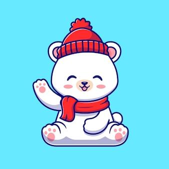 Simpatico orsetto polare