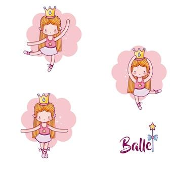Set da ballerina carino