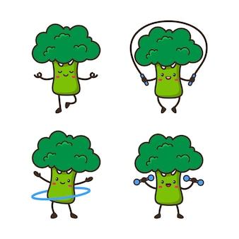 Carino broccoli fitness