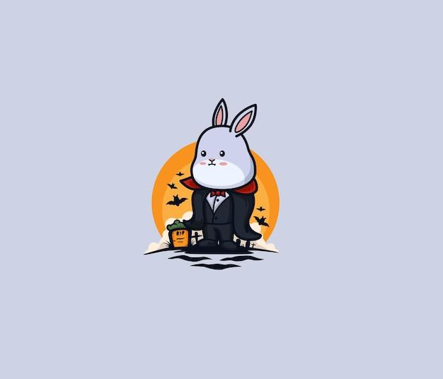 Simpatico coniglietto diventa dracula