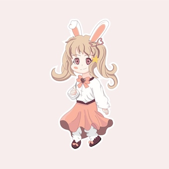 Coniglietta carina 1