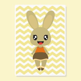 Coniglietta carina