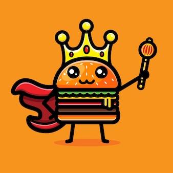 Simpatico re degli hamburger