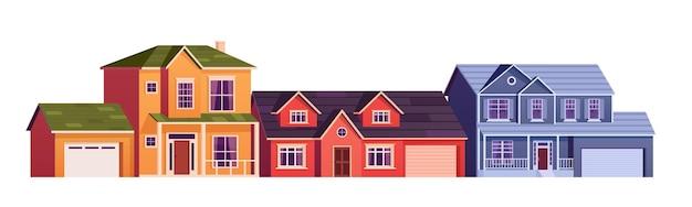 Casa carina dei cartoni animati