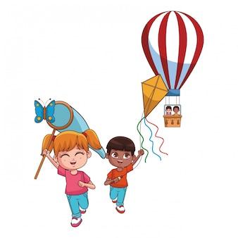 Cartone animato carino bambini