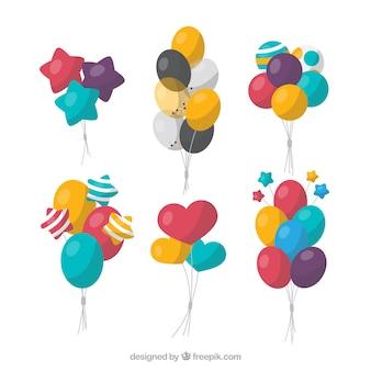 Palloncini decorativi carini e colorati