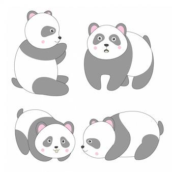 Panda di design carino