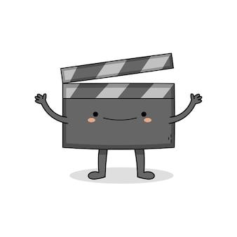 Personaggio dei cartoni animati carino film batacchio bordo