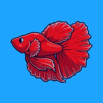 Simpatico pesce guppy betta