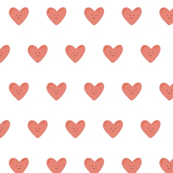 Modello cuore carino