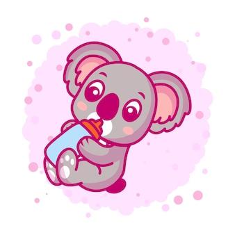Simpatico cartone animato koala