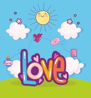 Testo d'amore carino