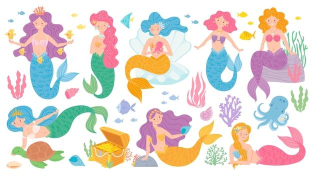 Set di sirene carine