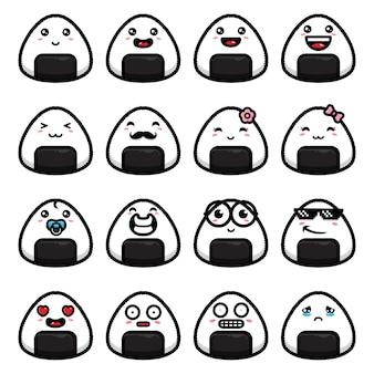 Carino onigiri emoji