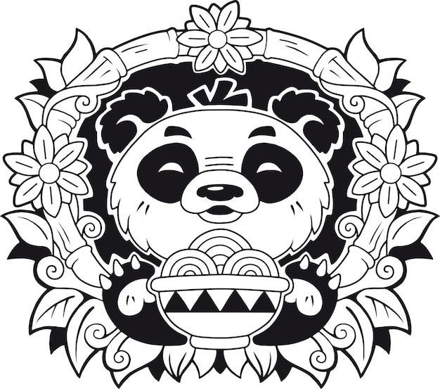 Simpatico panda