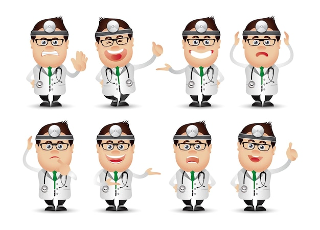 Persone carine-professionista-medico