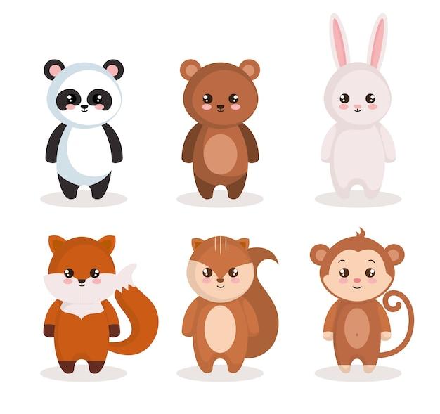 Simpatici personaggi animali