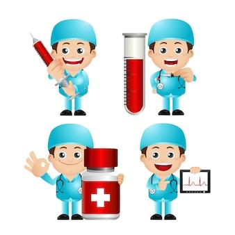 Simpatico set di dottore