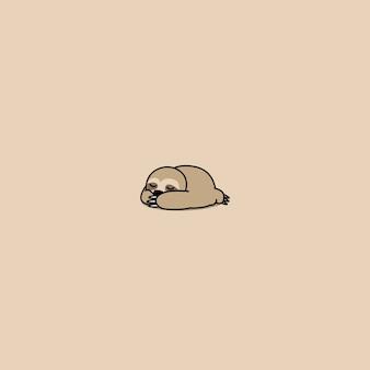 Icona di sonno bradipo carino