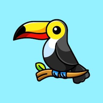 Sveglio tucano uccello