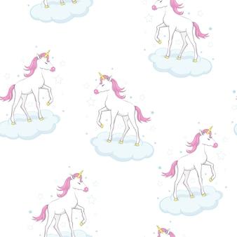 Modello di unicorno carino