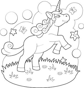Unicorno carino